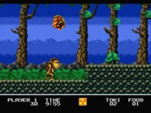 Quando vi este macaco nos screenshots da contracapa fez-se logo luz. Afinal tinha jogado 5 minutos deste jogo em emulação antes.