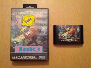 Toki Going Ape Spit - Sega Mega Drive