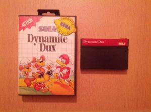 Dynamite Dux - Sega Master System