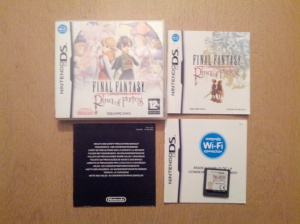 Final Fantasy Crystal Chronicles Ring of Fates -Nintendo DS
