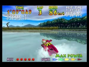 É nestas águas mais calmas onde podemos apreciar alguns belos efeitos de reflexo de água, excelentes para os padrões de 1996