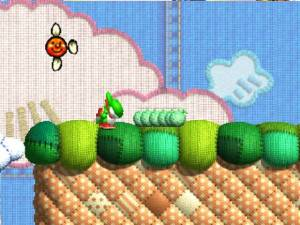 Não foi no Kirby's Epic Yarn onde a Nintendo começou por fazer este tipo de experiências