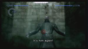 Os bosses também são frequentes, embora o Mr. X, tal como o Nemesis no RE3 seja recorrente no RE2