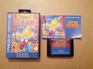Dynamite Headdy - Sega Mega Drive