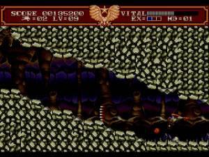 Nesta parte do jogo vamos literamente andar às cabeçadas se não tivermos reflexos rápidos