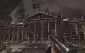 O apogeu está precisamente na invasão a Berlim, e sua conquista casa-a-casa até finalmente se invadir o Reichstag