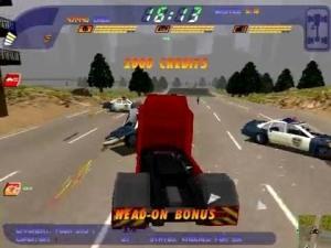 Apesar de não existirem polícias como no primeiro jogo, eles existem aqui como oponentes normais nas corridas.
