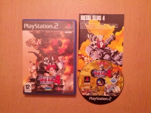 Metal Slug 4 - Sony Playstation 2