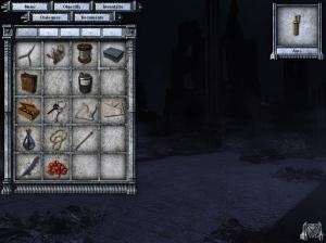 Durante o jogo teremos muitos objectos para interagir, mas felizmente o inventário é bem grandinho