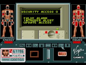 Interagir com terminais. Ah, o System Shock ainda estava tão longe...