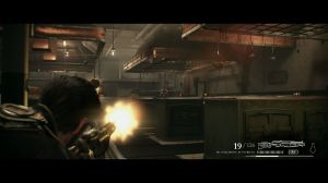 As mecânicas do combate assentam bastante em cover based shooting
