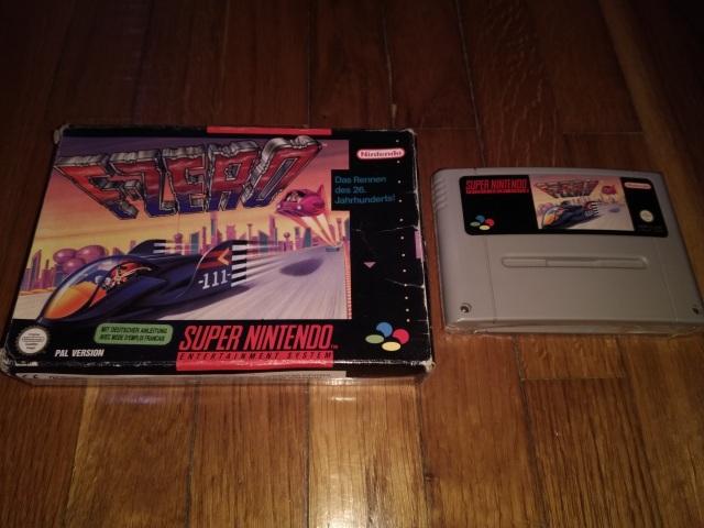 F-Zero - Super Nintendo