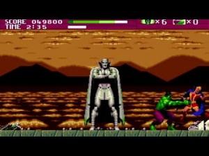 No final de cada nível há sempre um boss para defrontar, seguido de uma pequena cutscene ao estilo comic