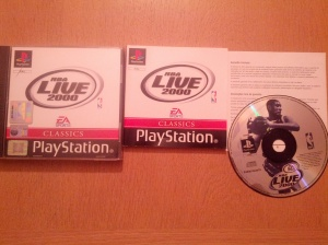 NBA Live 2000 - Sony Playstation