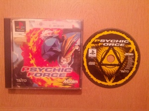 Psychic Force - Sony Playstation