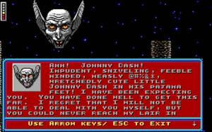 Ao longo do jogo vamos vendo alguns diálogos que vão progredindo a história.