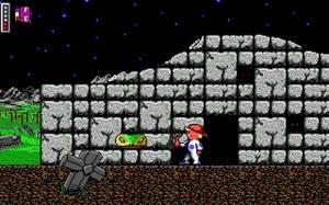 Alguns níveis são bem grandinhos, por exemplo este casebre é porta de entrada de uma dungeon grandinha. E aquelas cobras que surgem do nada são bem chatas!