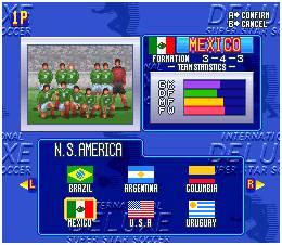 Comparativamente com os FIFAs da época, este jogo apenas perde pelo facto de só ter selecções e a falta de licenças para os nomes dos jogadores