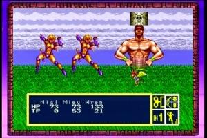 Ao menos as batalhas agora possuem backgrounds, tal como no primeiro jogo. Pena que as animações sejam horríveis