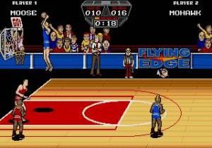Tal como o NBA Jam uns anos depois, podemos tentar fazer algumas acrobacias