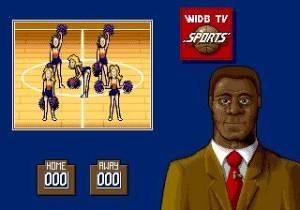 No intervalo temos sempre a actuação das cheerleaders. A do meio é a mais badalhoca