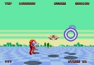 Graficamente é muito melhor que o seu antecessor na Master System, mas o original arcade ainda leva a melhor