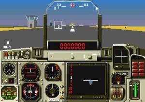 Os gráficos são poligonais e bastante simples. Ainda bem que o jogo é passado em desertos, senão ia ser complicado a Mega Drive dar conta do recado