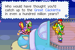A história está relativamente original, tendo em conta que é um jogo do Mario, e há sempre algum bom humor à mistura