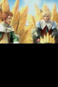 Como não poderia deixar de ser, a Square Enix adicionou uma série e cutscenes todas catitas