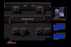 A Konami deu-se ao trabalho de traduzir o Metal Gear 2 para Inglês, fanservice deste é algo muito benvindo