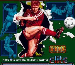 Nem se deram ao trabalho de mudar este ecrã para ter uma foto do Cantona...