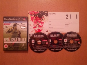Jogo completo com manual, 3 discos e papelada