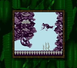 Apesar de ser compatível com a Super Gameboy, os ganhos de qualidade não são assim tantos.