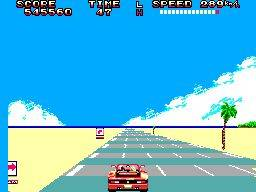A versão Master System é um esforço notável, mas está muito longe da glória da arcade