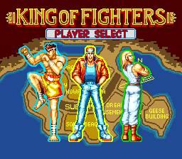 Hoje em dia é um pouco estranho um jogo de luta onde só podemos escolher uma de 3 personagens.