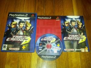 Jogo com caixa, manual e um pequeno catálogo de outros jogos da Namco para a PS2.