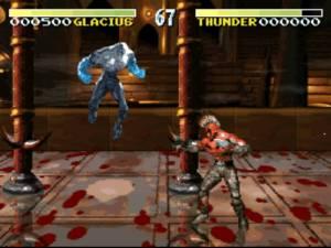 Graficamente o original de arcade era bastante imponente, infelizmente a versão SNES teve de sofrer bastantes cortes