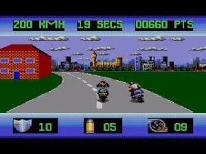 Começamos por fugir de Londres numa moto, podendo dar pancada como no Road Rash!