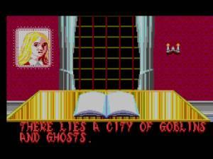 Mesmo a própria história se mostra diferente da versão arcade