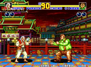No Fatal Fury 2 as coisas já se aproximaram bem mais de um Street Fighter II