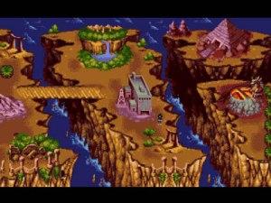 Antes de cada combate podemos explorar o overworld, escolhendo o combate seguinte. Quanto mais se vai avançando no jogo, mais lineares as coisas ficam.