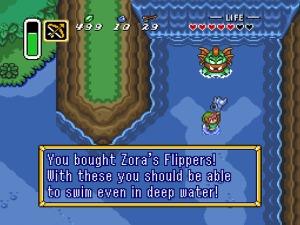 A Link to the Past possui um inventário bem grandinho e que nos abre muitas possibilidades