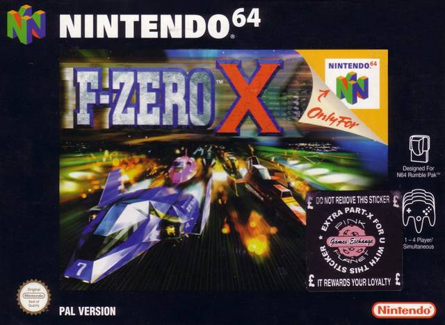 F-Zero X,-cover game n64/best game nintendo